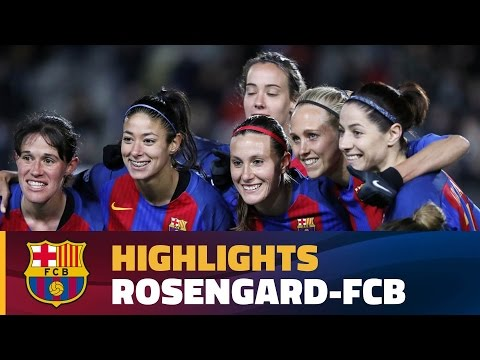 [HIGHLIGHTS] FUTBOL FEM (Champions League): Rosengard - FC Barcelona (0-1)