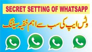 WhatsApp New Amazing Hidden Secret Tips And Tricks Urdu