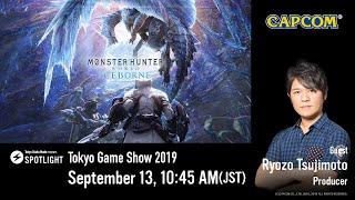 SPOTLIGHT: Tokyo Game Show 2019 Monster Hunter World: Iceborne - Day2