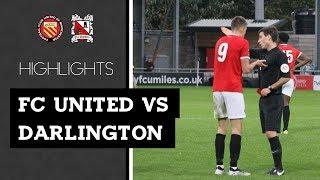 FC United of Manchester 1-2 Darlington - Vanarama National League North - 2018/19
