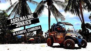 Adrenaline Junkies in Kampot, Cambodia!!!