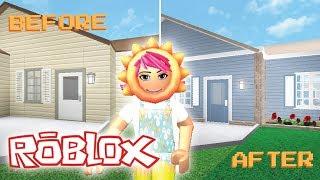 I RENOVATED A PRE-BUILT BLOXBURG HOUSE | Small Suburban | Welcome to Bloxburg