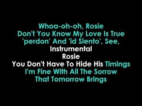 Rosie karaoke John Mayer