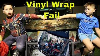 Aliexpress Vinyl car wrap negative review. Don't get this Car Wrap