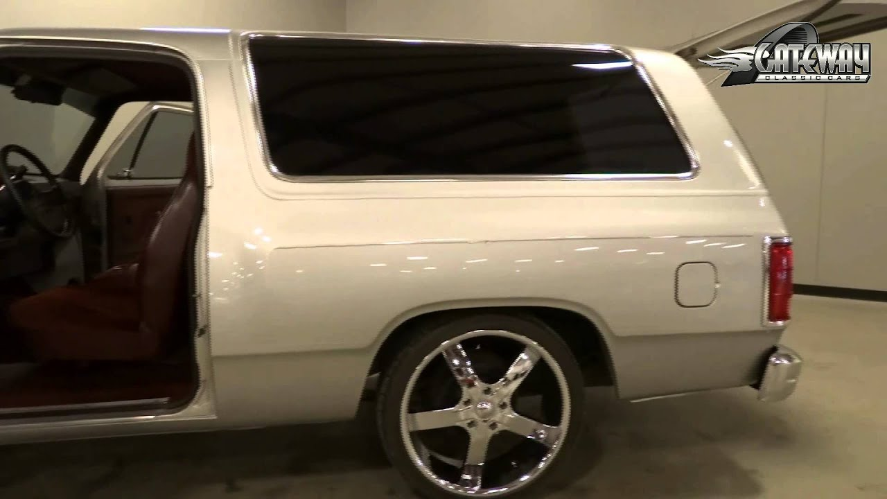 1989 Dodge Ram Charger Located In Our Louisville Ky