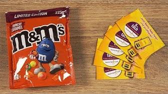 m&m's Crunchy Caramel & Netto Gewinnspiel Lose