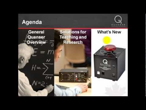 Quanser and National Instruments -  Part 1