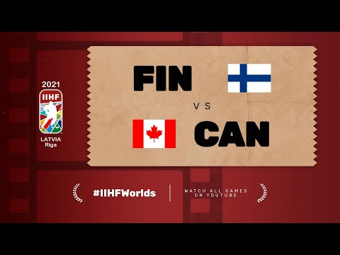 Highlights: FINLAND vs CANADA   2021 #IIHFWorlds