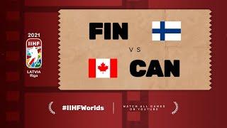 Highlights: FINLAND vs CANADA | 2021 #IIHFWorlds