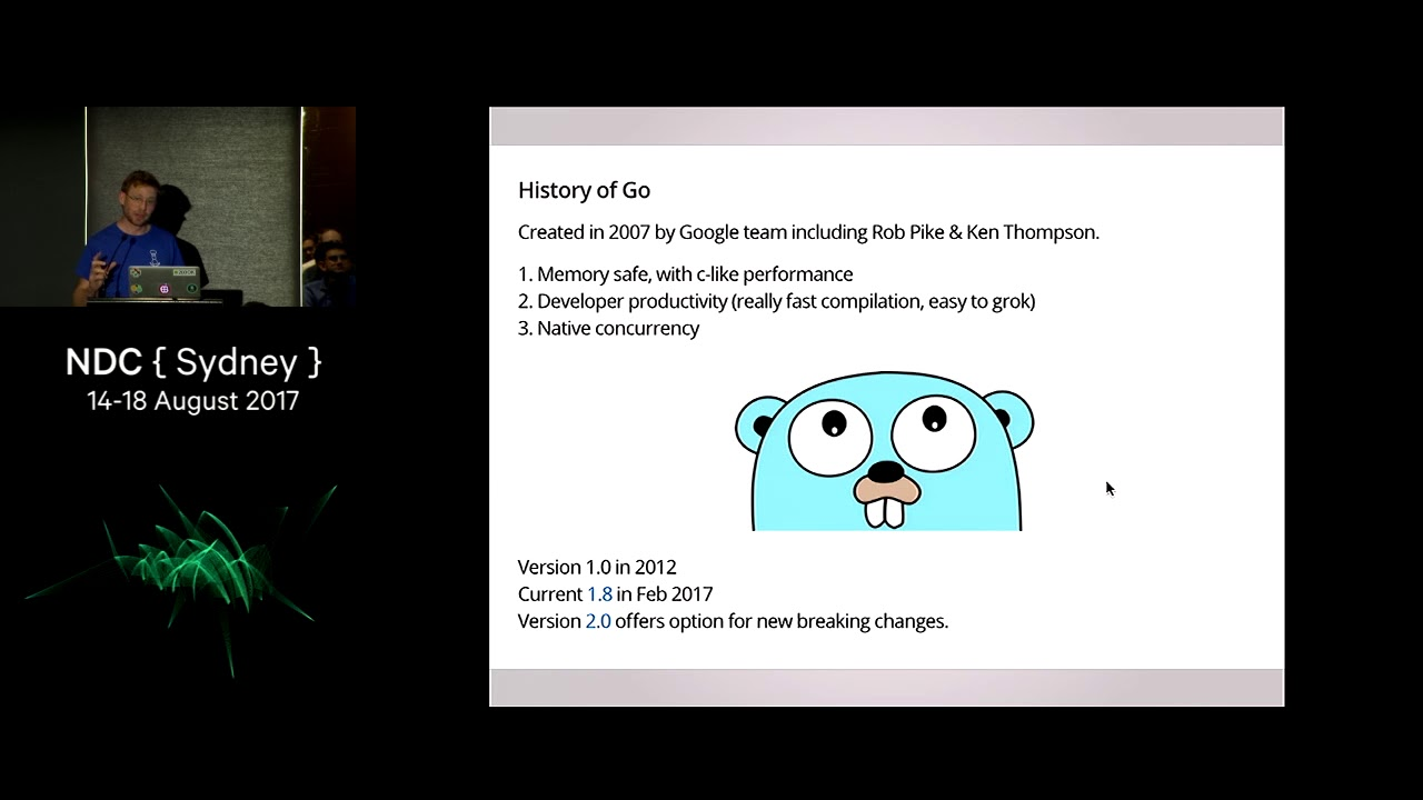 From C# to Golang, My data science journey. - Julian Bright
