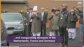 Huzoor (aba) departs for The European Tour 2019
