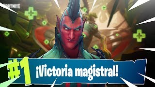 VICTORIA MAGISTRAL with the SKIN CARN-VORO FORTNITE BATTLE ROYALE ? WEEK 7