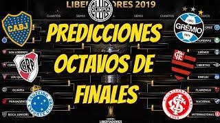 PREDICCION DE LOS OCTAVOS DE FINALES ANALIZADAS COPA LIBERTADORES 2019
