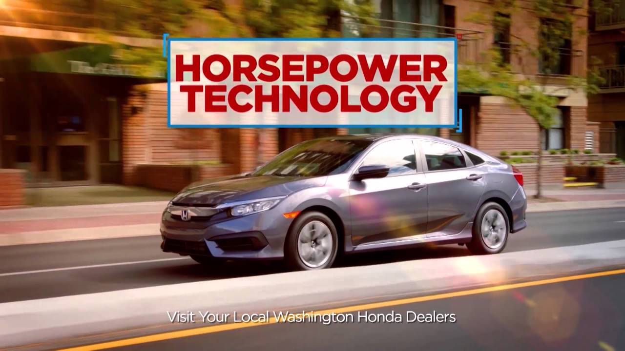 Southeast Washington Honda Dealers Honda Civic - YouTube