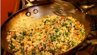 How To Make Vegetable Fried Rice (kerala)