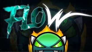 Cover images Flow 100% Verified (A BIG Megacollab) by Geonox & Others! | Geometry Dash | Dorami