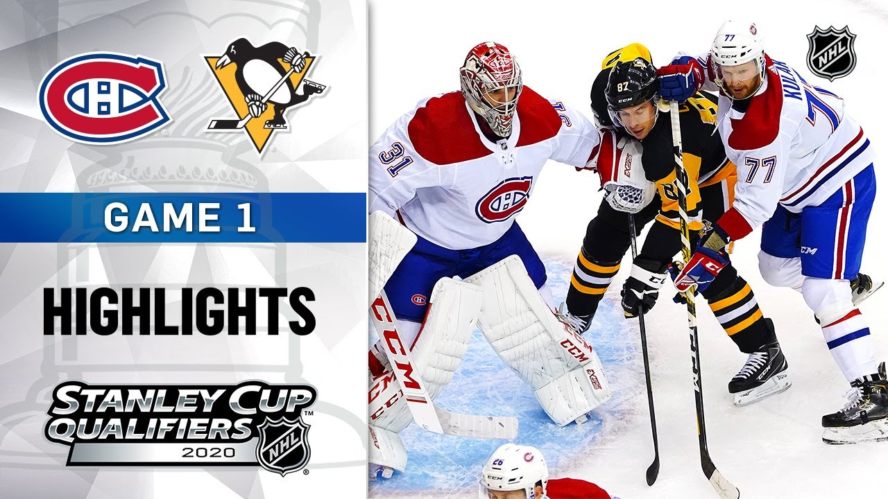 Montreal Canadiens and Pittsburgh Penguins face off in game 3 of ...