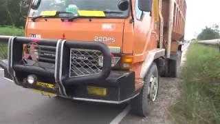 Ginilah cara mudah mengemudikan truk tronton