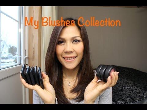 My Blushes Collection. ที่ปัดแก้มในกรุเครื่องสำอางค์คะ