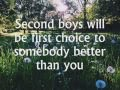 The Brobecks - Second Boys will be first choice (lyrics video)