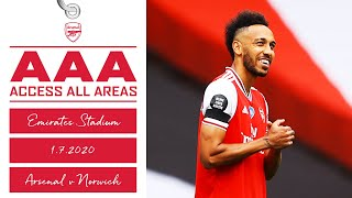Access All Areas | Arsenal 4-0 Norwich | Behind Closed Doors