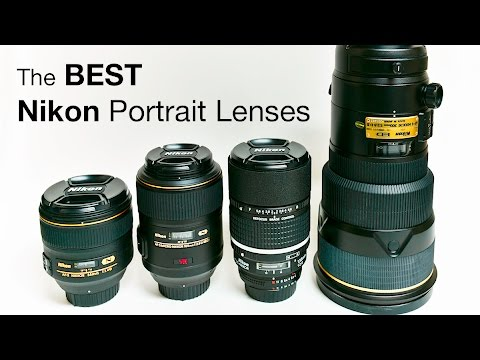 The Best Nikon Portrait Lenses with Samples!