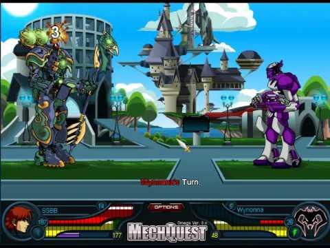 MechQuest [Quest: Soluna NPC Fight]