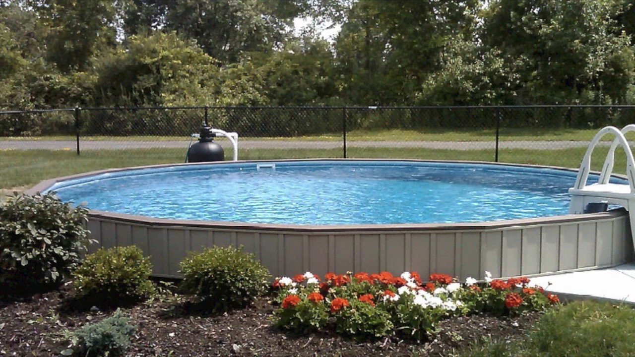 Semi inground pools youtube - Prices of inground swimming pools ...