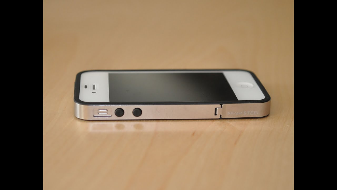 differently 8b5c7 4ae6a Rearth Ringke Steel Bumper for iPhone 4s