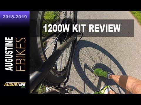 E-Bike Review. 1200w Electric Bike Conversion Kit. 2016 Giant Talon, Hardtail 29er. 48V, 17.5AH