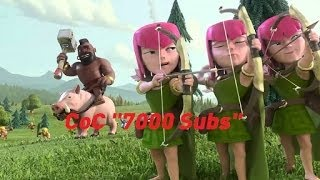 "Clash of Clans (CoC) ""7000 Subs"" (iOS/Andriod)"