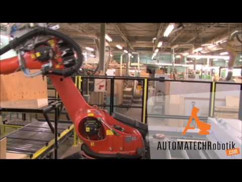 Robotic Cell for Furniture Industry