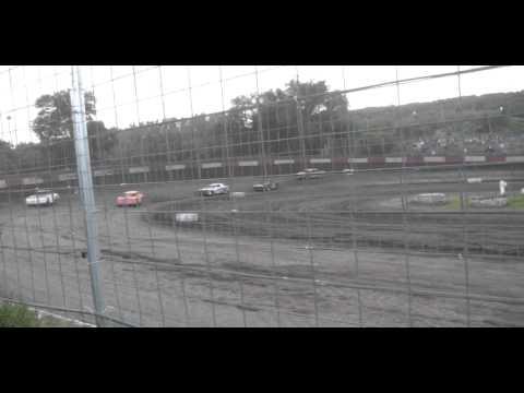 8.8.15--Peoria Speedway----Street Stock Heat Race