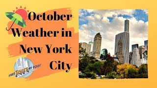 October Weather in New York City