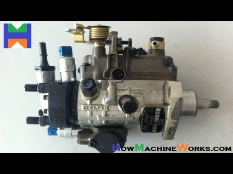 How fuel injection pump works YouTube