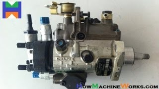 How fuel injection pump works. ✔