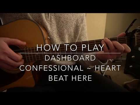 "How to play ""Heart Beat Here"" by Dashboard Confessional"