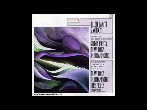 Concerto Grosso 1985: I. Maestoso (Ellen Taaffe Zwilich)