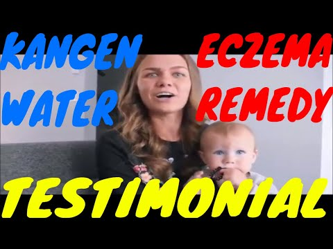 Kangen water clears Eczema & Skin rash – NATURAL remedy
