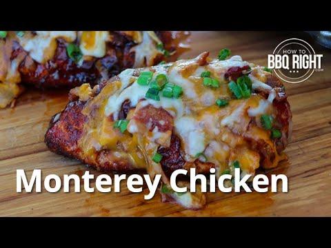 Monterey Chicken on the Grill