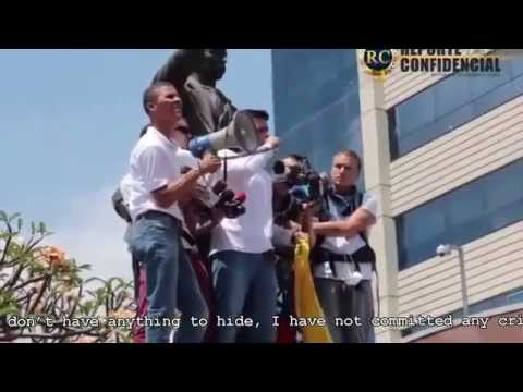 Leopoldo Lopez speech before his arrest (2/18/2014)