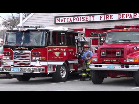 Mattapoisett MA FD  Responding AFA E1 040914