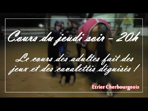 COURS DEGUISE ! - Jeudi soir - Cavalettis - Etrier Cherbourgeois