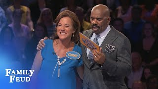 HYSTERICAL FAST MONEY! | Family Feud