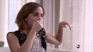 Emma Watson Beatbox For Lin Manuel Miranda Gender Equality Rap