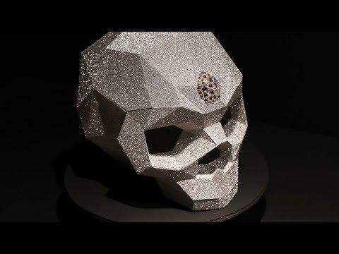 Paper Skull DIY | Papercraft Human Skull