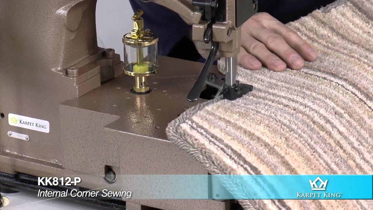 Karpet King Kk812 P Carpet Whipping Machine Youtube