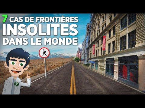 7 FRONTIÈRES INSOLITES DANS LE MONDE