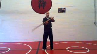Bujinkan Solo Training Drills - Bokken