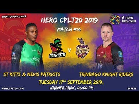 Match 14 Highlights | #SKPvTKR | #CPL19